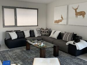 Large sectional sofa couch