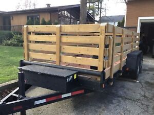 6 Ton Dual Axle Low Bed Float Trailer.