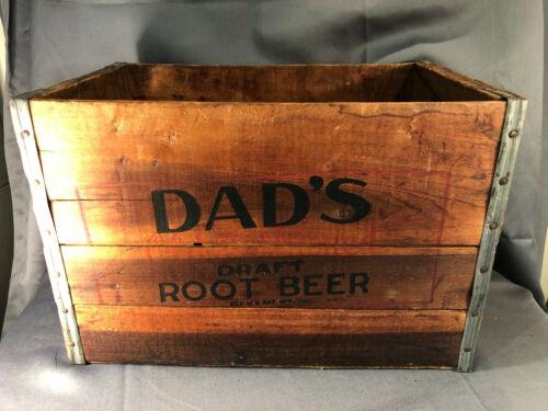 Wood Crate Advertising Dad
