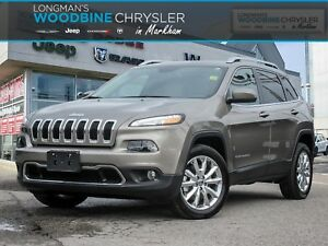 2017 Jeep Cherokee Limited/Navigation/BackUp Camera