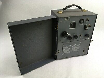 Gertsch Frequency Divider Meter Model Fm-5 200 Kc - 20 Mc For Parts