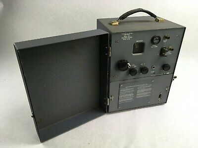 Gertsch Frequency Divider Meter Model Fm-5 200 Kc - 20 Mc For Parts