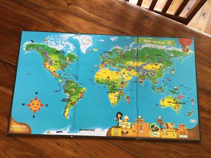 My map world toys indoor gumtree australia banyule area used leapfrog tag interactive world map gumiabroncs Image collections
