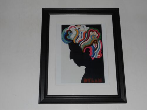 """Large Framed Bob Dylan Famous Color Hair Poster 1968, Beautiful! 24"""" by 20"""""""