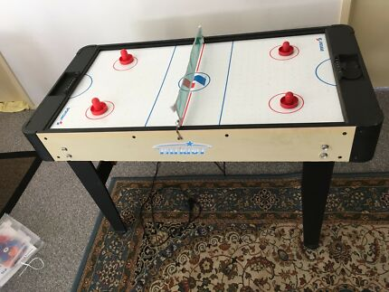 air hockey + foosball