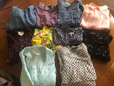 Incredible Lot Of 10 Tops S XS Anthro Madewell J Crew Opening Ceremony More!