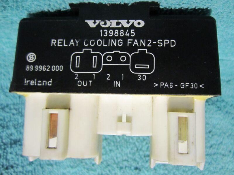 SHIPS SAME DAY! Volvo 1398845 Cooling Fan Relay  940 C70 S40 S70 S90 V40 V70 V90