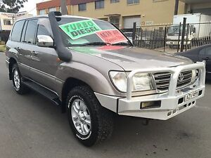 Toyota LandCruiser AUTO TURBO DIESEL AND LPG 100series Clyde Parramatta Area Preview