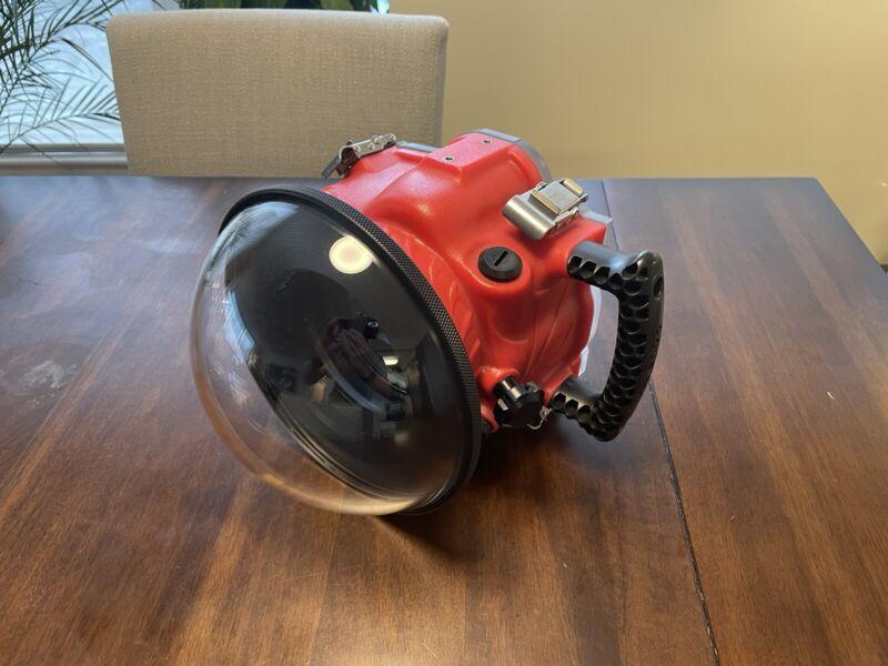 AquaTech Canon 70/80D BASE Water Housing Kit + PD-85 Lens Port + P-30 EX