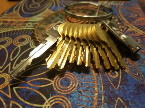 11pc Pentesting Key Set 1284x FEO K1 CH751 501CH 2642 C390A C413A C415A C346A