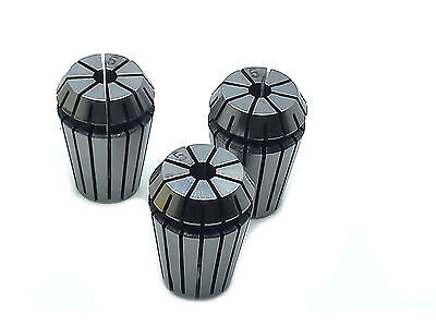 Us Stock 3x Er20 5mm Spring Collet Set For Cnc Engraving Machine Milling Lathe