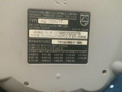 Philips Magnavox X-Treme 40 ESP3 Portable CD Player AZ7792/17 Bass Boost Tested