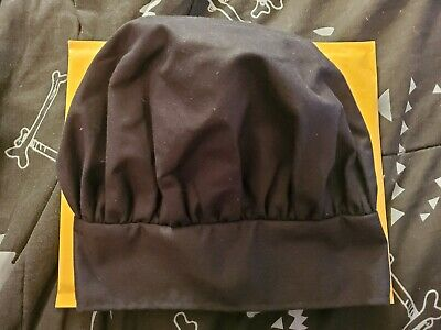 Ritz Chef Hat 15004 Black One Size Immaculate