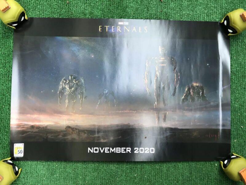 SDCC 2019 Marvel Studios Exclusive Concept Art Poster 19x13 The Eternals
