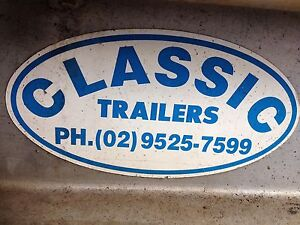CLASSIC 6x4 Box Caged Trailer Maroubra Eastern Suburbs Preview