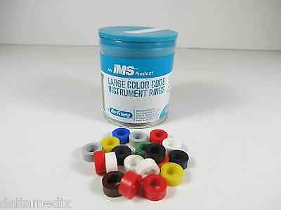 Dental Rings Instruments Assorted Color Large Id Ims1280l Pack 90 Hu Friedy