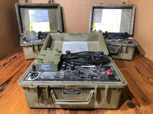 Bren-Tronics BTC-UNI05 BTC-UNI08 PP-8444/U Battery Charger J-6358B/P BTA-70834