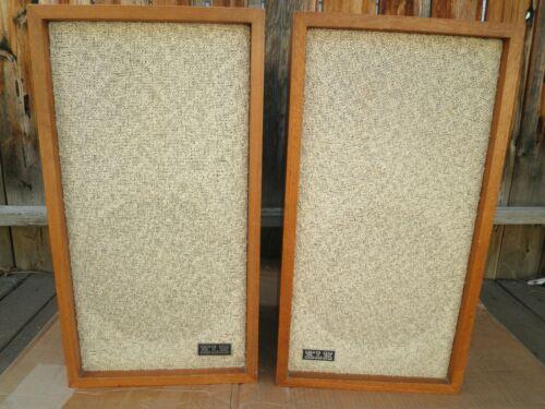 Vintage Pair of KLH Model Six 6 speakers