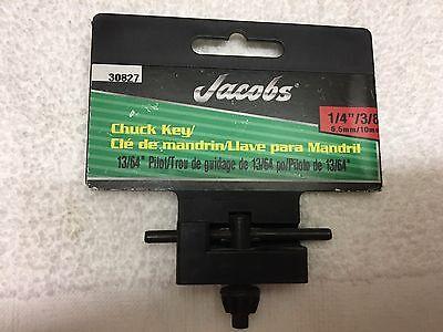 Qty 2 - Jacobs Drill Chuck Key 14 38 6.5mm10mm W1364 Pilot - 30827
