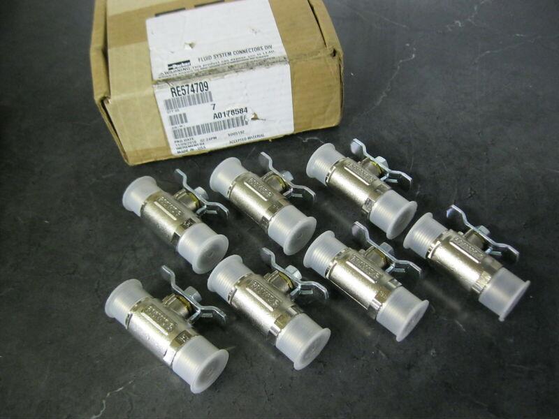 Box of 7 PARKER SS Stainless steel Ball Valves 3/4 npt X 5/8 ORFS J1453-10
