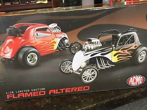 1:18 scale diecast Flamed Altered