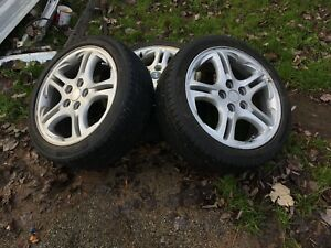 Three rims and tires 215/45r17 for sale $250