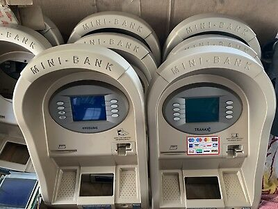 Atm Mini-bank Upper Bezel Hyosung Or Tranax Complete - Screen Card Reader..