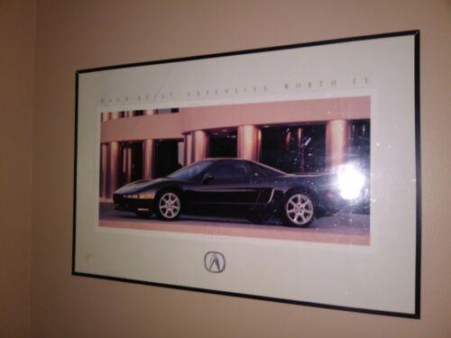 1994 Acura NSX dealership showroom advertising poster
