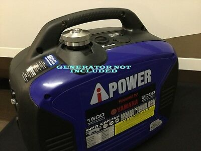 A-ipower Sc2000i Yamaha Powered Gas Inverter Generator Extended Run Fuel Cap