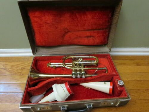 1965 Cornet KING Cleveland Superior with Case and King 7M mouthpiece (179171)