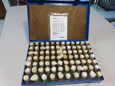 New Westward Plug And Pin Gage Setminus82 Piece 0.751-0.832