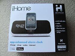 Brand New iHome iA5 App-Enhanced Alarm Clock Speaker System