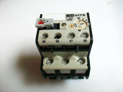NEW AEG THERMAL OVERLOAD RELAY B17S  11-17 A. 910-341-937