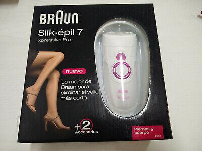 Depiladora Braun Silk epil 7 Xpressive Pro 7360 + 2 accesorios