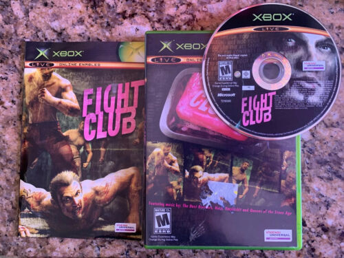 Fight Club - Xbox Complete Working Tested - $8.10