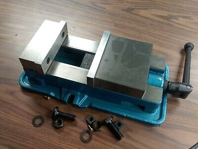6 Ang-down-lock Milling Machine Vise Without Swivel Base 850-006-new