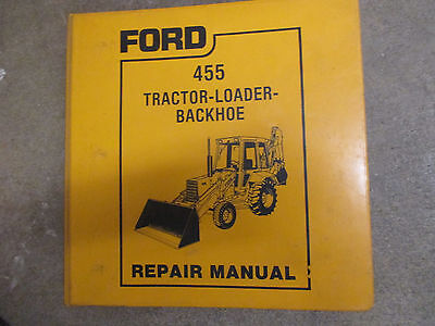 Ford 455 Tractor With Backhoe Loader Service Repair Manual