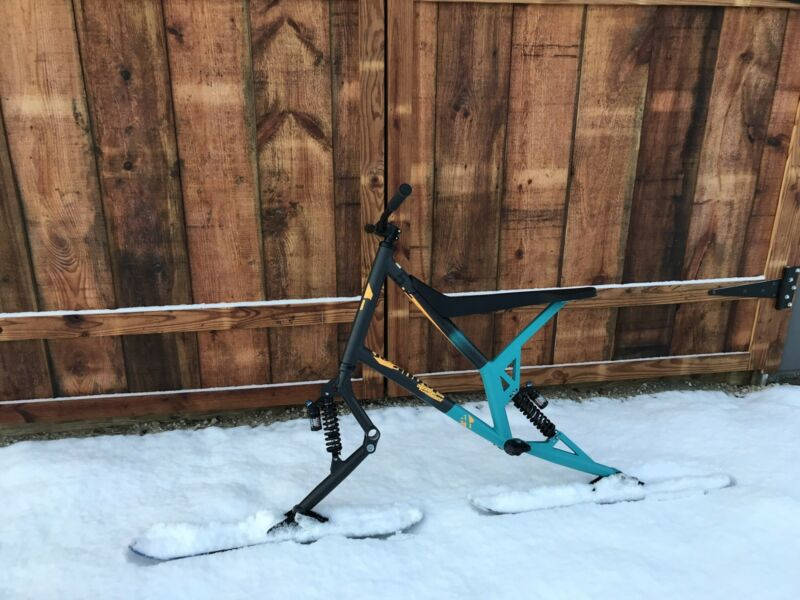 Sledgehammer Freerider 5.2 Skibike - New
