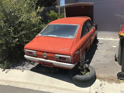 Datsun 1200 coupe 13B rotary unfinished project