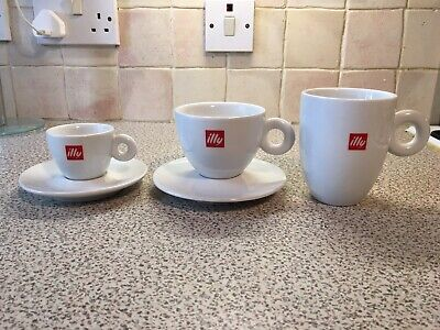 illy Espresso, Cappuccino And Mug   Coffee Cups & Saucers