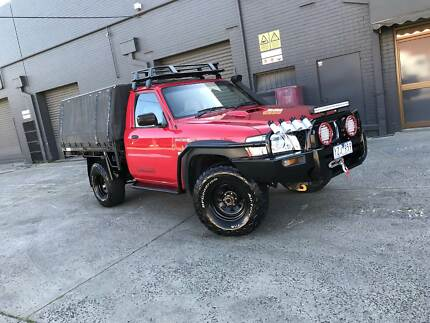 2007 Nissan Patrol DX ute 4x4 CANOPY LIFT LOADED WITH EXTRAS