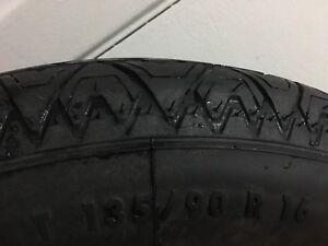 New Temporary spare tire