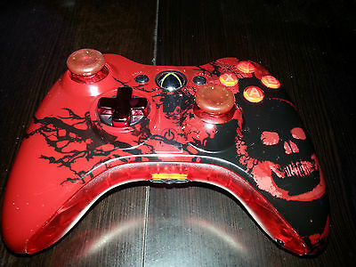 XBOX 360 53 MODE GOW3 Controller OCTOFIRE Rapid Fire + EVIL CONTROLLERS VISION , used for sale  Shipping to India