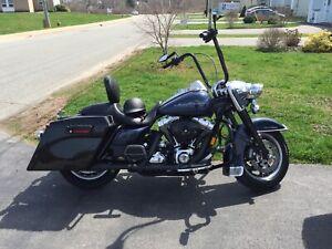 2008 custom Harley Davidson Road King