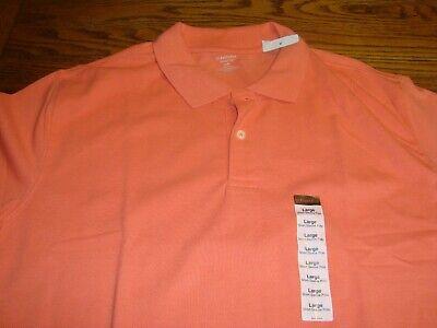 Heritage Classic-shirt (ST. JOHNS BAY Orange Short Sleeve Heritage Polo Classic Shirt - Size Large - New)