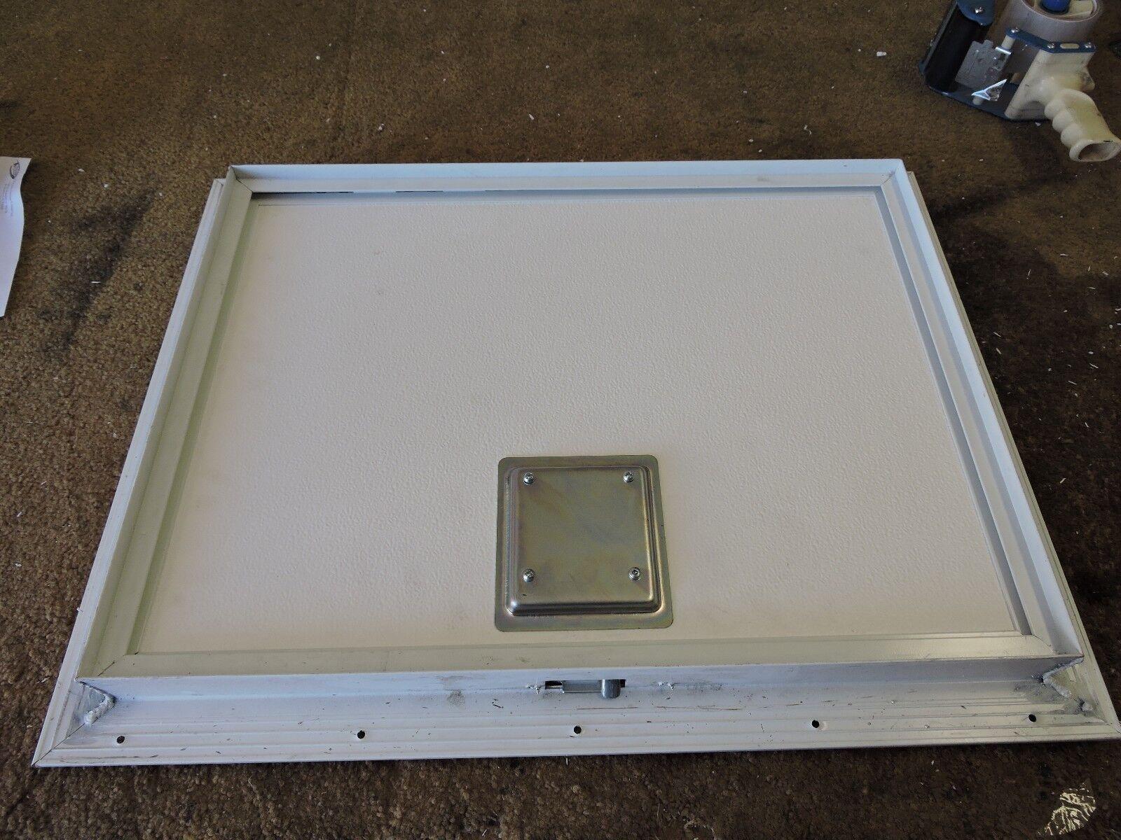 Rv Access Doors : Custom size rv motorhome trailer cart square baggage