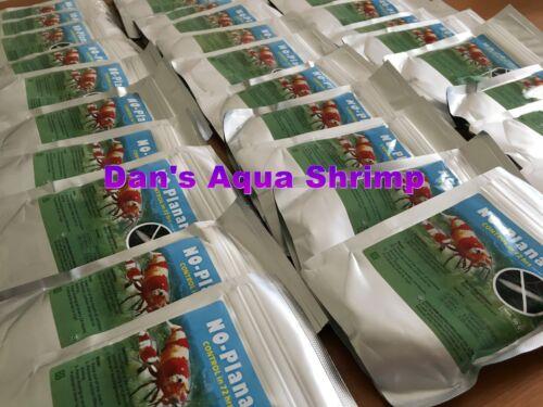 Genchem No Planaria Shrimp Safe Planaria Hydra Killer Dosing Instruction include