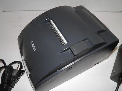 Epson Tm-u220b M188b Dot Matrix Kitchen Bar Receipt Printer Ethernet W Power