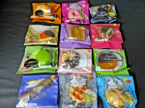 Fake Food Lipton Bonus Sweets Collection Strap 12 Sweets Cake Figure JAPAN