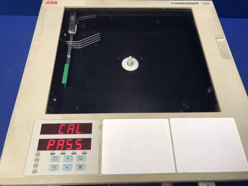 ABB 1912JA001100000STD COMMANDER 1900 CHART RECORDER
